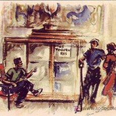 Postales: TARJETA GUERRA CIVIL ESPAÑOLA (1936-1939): GUARDIANES DE LA REVOLUCION.. Lote 16587382