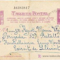 Postales: GUERRA CIVIL. POSTAL ENVIADA A UN SOLDADO DEL EJÉRCITO REPUBLICANO. EJÉRCITO DE LEVANTE. Lote 5534073