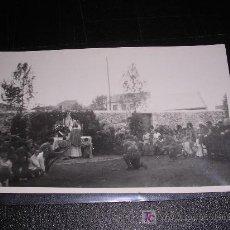 Postales: SOLDADO NACIONAL EN CAPILLA, FOTOGRAFICA. Lote 5563466