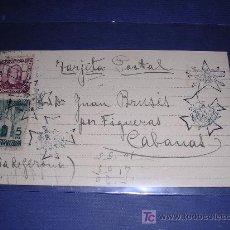 Postcards - TARGETA POSTAL GUERRA CIVIL CON 3 TAMPONES, BANDO REPUBLICANO ANUNCIANDO UN BOMBARDEO 1938 - 5875115