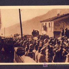 Postales: POSTAL DE LA GUERRA CIVIL: EL PERTUS: EN EL PUENTE INTERNACIONAL CHAUVIN NUM.20). Lote 6262561