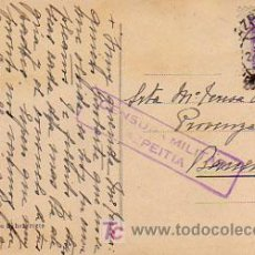 Postales: CENSURA MILITAR DE AZPEITIA. 1939. . Lote 6570207