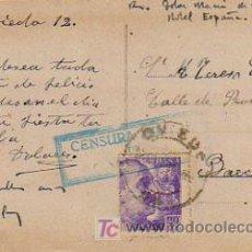 Postales: CENSURA MILITAR DE OVIEDO. . Lote 6570237