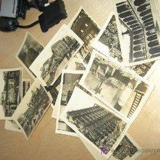 Postales: 1938.- SPANISH CIVIL WAR. 14 POSTALES DEL ALCAZAR DE TOLEDO ANTES Y DESPUÉS DE ASEDIO. Lote 26629881