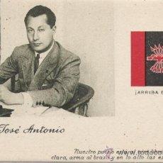 Postales: POSTAL ANTIGUA FALANGE, JOSE ANTONIO PRIMO DE RIVERA. Lote 11892348