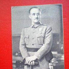 Postales: S.E. EL GENERALISIMO FRANCO-JALON ANGEL-ZARAGOZA. Lote 22845563