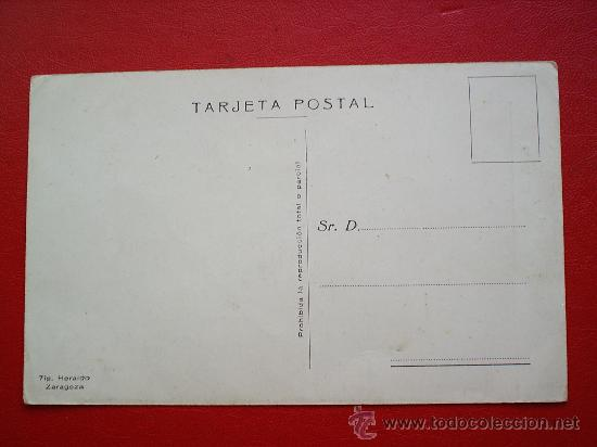 Postales: S.E. EL GENERALISIMO FRANCO-JALON ANGEL-ZARAGOZA - Foto 2 - 22845563