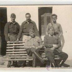 Postales: (GCXJ-2)POSTAL FOTOGRAFICA OFICIALES EJERCITO NACIONAL -GUERRA CIVIL. Lote 11270876