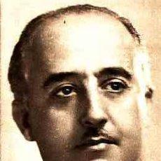 Postales: POSTAL DE FRANCISCO FRANCO GENERALISIMO DE TODOS LOS EJERCITOS. Lote 11298846