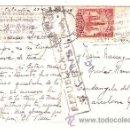 Postales: ANTIGUA POSTAL REPUBLICA ESPAÑOLA CENSURA CIRCULADA DE COLOMBIA A CERDANYOLA DEL VALLES 1938. Lote 12490135
