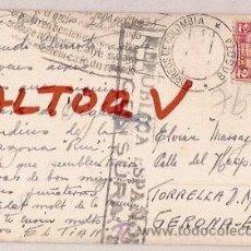 Postales: ANTIGUA POSTAL Nº 34 INDIOS DEL PUTUMAYO COLOMBIA TIP MANIZALES CENSURA REPUBLICA ESPAÑOLA1938. Lote 12517222