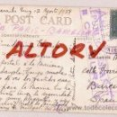 Postales: POST CARD CIRCULADA DE VENEZUELA MARACAIBO VIA PARIS A BARCELONA CENSURA REPUBLICA ESPAÑOLA. Lote 12517257
