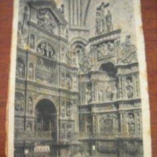 Postales: SIGÜENZA. CATEDRAL. RETABLO DE STA. LIBRADA.. Lote 14085620