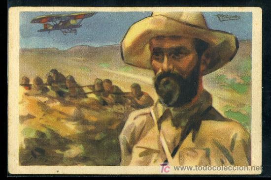 TARJETA POSTAL DE JUAN FERNANDEZ ( EL NEGUS). EDICION EXCLUSIVA CRUZ ROJA SERIE A Nº 7 (Postales - Postales Temáticas - Guerra Civil Española)