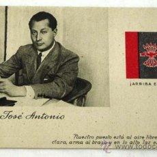Postales: POSTAL JOSÉ ANTONIO ARRIBA ESPAÑA. Lote 15680328