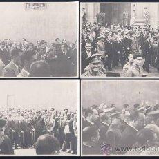 Postales: AÑO 38.-VISITA DE FRANCO A BURGOS CON ALCALDE Y AUTORIDADES LOCALES. Lote 15917239