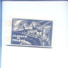 Postales: ALCAZAR DE TOLEDO.CUADERNILLO CON 24 POSTALES DEL ALCAZAR TRAS SU LIBERACION. Lote 15935428