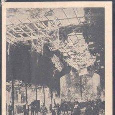 Postales: MARZO 1936.-LA REVOLUCIÓN DEL FRENTE POPULAR EN ESPAÑA. INCENDIO DE UN COLEGIO EN VALLECAS. Lote 16413171