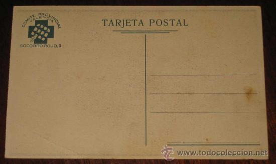 Postales: Postal Republicana Original Guerra civil. Socorro rojo internacional - Postal Original del bando rep - Foto 2 - 26854396
