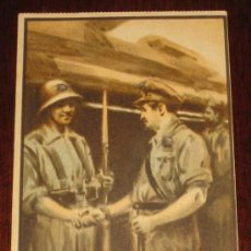 Postales: POSTAL REPUBLICANA ORIGINAL GUERRA CIVIL. SOCORRO ROJO INTERNACIONAL - POSTAL ORIGINAL DEL BANDO REP. Lote 26447915