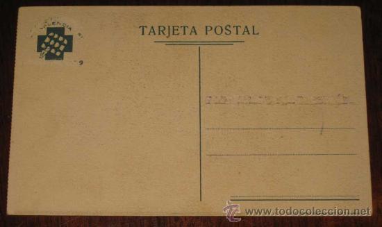Postales: Postal Republicana Original Guerra civil. Socorro rojo internacional - Postal Original del bando rep - Foto 2 - 26447915