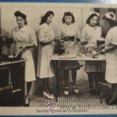 Postales: SECCIÓN FEMENINA DE F.E.T Y DE LOS J.O.N.S - SERVICIO SOCIAL DE PRODUCTORAS - . Lote 17343552