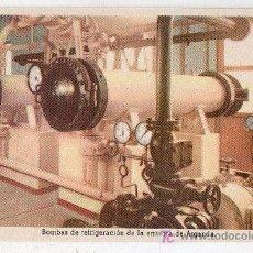 Postales: TARJETA POSTAL. BOMBAS DE REFRIGERACION. EDICIONES DE LA VICESECRETARIA DE EDUCACION POPULAR. Lote 17598698