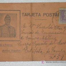 Postales: TARJETA POSTAL GUERRA CIVIL ESPAÑOLA ESTAFETA DE CAMPAÑA . Lote 25944832
