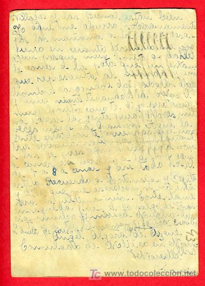 Postales: POSTAL GUERRA CIVIL , CENSURA MILITAR , FRANCIA , P43 - Foto 2 - 25971501