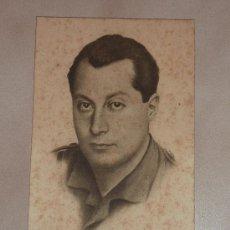 Postales: POSTAL DE JOSE ANTONIO PRIMO DE RIVERA. GUERRA CIVIL. DIVISION AZUL. ORIGINAL 100%. FALANGE. Lote 26833432