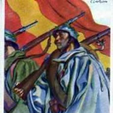 Postales: POSTAL COLECCION ARTIFICES DE LA VICTORIA EJERCITO REGULAR GUERRA CIVIL. Lote 20674051