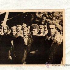 Postales: EL EXODO ESPAÑOL 12 LE PERTHUS PRESOS NACIONALES LLEVADOS A FRANCIA MUY RARA UX9. Lote 24332211