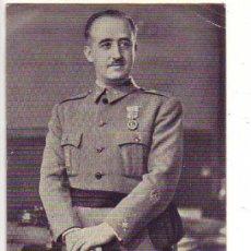 Postales: S.E. EL GENERALISIMO FRANCO - POR JALON ANGEL - FOTOGRAFO DE ZARAGOZA. Lote 25092855