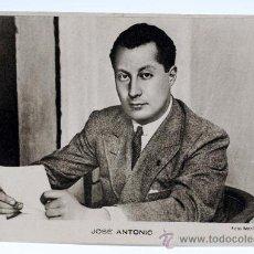 Postales: POSTAL JOSÉ ANTONIO FOTO MARÍN SAN SEBASTIÁN ED HUECOGRABADO ARTE BILBAO ESCRITA. Lote 25883637
