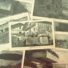 Postales: SERIE II DE 12 POSTALES , COMPLETA - CINTURON DE HIERRO DE BILBAO , GUERRA CIVIL - OJANGUREN ,EIBAR. Lote 296561978