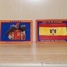 Postales: 16 POSTALES - ESPAÑA - FRANCO - FALANGE - VIRGEN DEL PILAR - JOSE ANTONIO. Lote 119367356
