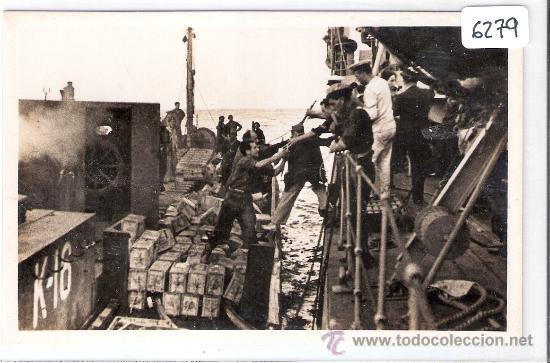COMISSARIAT DE PROPAGANDA GENERALITATDE CAT. - SERIE C NUM.17 -TRANSPORTE DE MATERIAL -(6279) (Postales - Postales Temáticas - Guerra Civil Española)