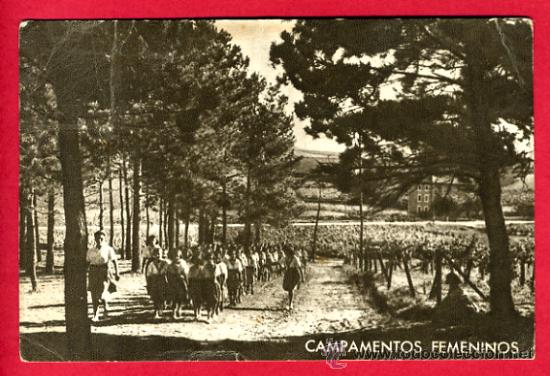 CAMPAMENTOS FEMENINOS, P61041 (Postales - Postales Temáticas - Guerra Civil Española)