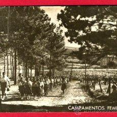 Postales: CAMPAMENTOS FEMENINOS, P61041. Lote 27354702