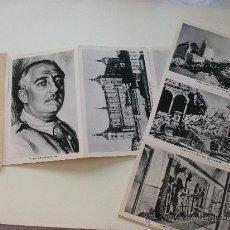 Postales: LAS 11 POSTALES DEL ALCAZAR DE TOLEDO, EN SU ESTUCHE. Lote 27872585