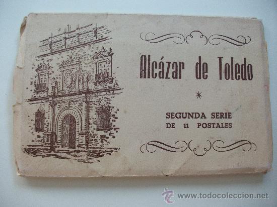 Postales: LAS 11 POSTALES DEL ALCAZAR DE TOLEDO, EN SU ESTUCHE - Foto 2 - 27872585
