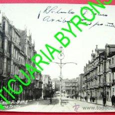 Postales: VIGO - CALLE P. SANZ - SELLO DE CENSURA MILITAR - LIBRERIA TETILLA. Lote 28405727