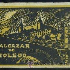 Postales: ALCAZAR DE TOLEDO - GUERRA CIVIL 25 POSTALES EN BLOC P-GCV-029. Lote 28519461