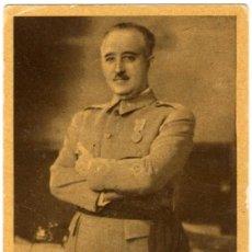 Postales: BONITA POSTAL - S.E. EL GENERALISIO - FRANCISCO FRANCO - GALERIA DE PERSONAJES - POR JALON ANGEL. Lote 28891727