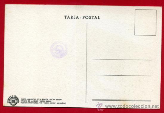 Postales: POSTAL GUERRA CIVIL, NOVA IBERIA CIUTADA , GENERALITAT CATALUNYA , GRAFOS , ORIGINAL - Foto 2 - 32046348