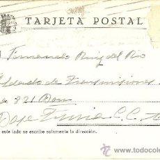 Postales: TARJETA POSTAL REPUBLICANA - GUERRA CIVIL - SOLDADO TRANSMISIONES - BASE TURIA - 1938. Lote 32502858