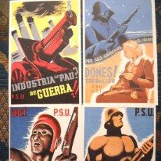 Postcards - 20 POSTALES DE LA GUERRA CIVIL - Tiraje años 70 - 32507367