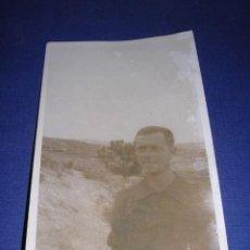 Postales: POSTAL FOTOGRAFICA GUERRA CIVIL MILICIANO FRENTE DE ARAGON 14X9 CM. ( ORIGINAL NO COPIA ) . Lote 33431419