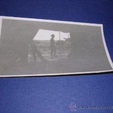 Postales: POSTAL FOTOGRAFICA GUERRA CIVIL MILICIANO FRENTE DE ATAGON ( MONTALBAN ) TERUEL DICIEMBRE 1936 . Lote 33444609