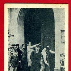 Postales: POSTAL GUERRA CIVIL, REVOLUCION FRENTE POPULAR, COMUNISTAS EN CASA PARTICULAR BARCELONA , ORIGINAL. Lote 34217002